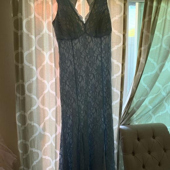 Morgan & Co. Dresses & Skirts - Baby blue prom dress